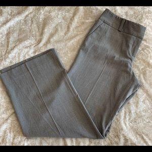 Limited light grey Cassidy fit crop dress slacks